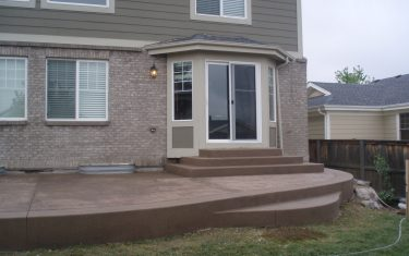 Stamped Concrete Patio Aurora, CO