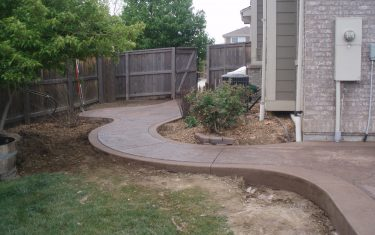 Stamped Concrete Pathway Aurora, CO