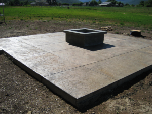 Sealed Concrete