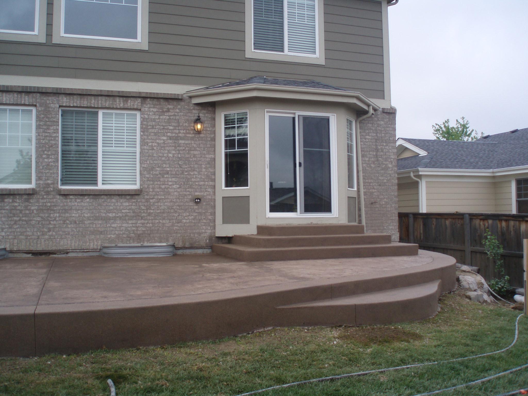 Stamped Concrete Patios Diehl Concrete Denver Area