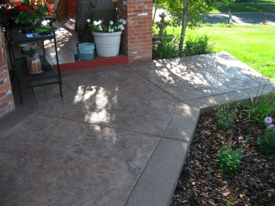 stamped concrete patios diehl concrete. Black Bedroom Furniture Sets. Home Design Ideas